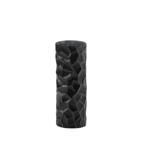 Gramercy Black Hammered Vase