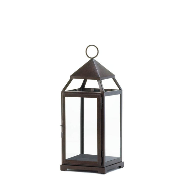 Bronze Contemporary Lantern - Shop Lantern - DARRA HOME