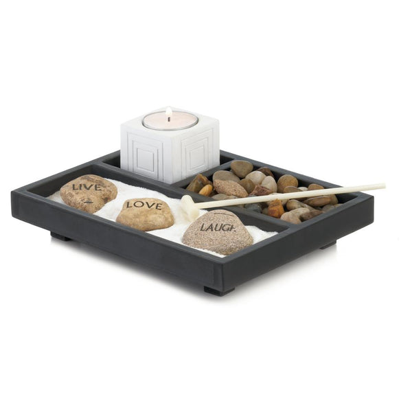 Live Love Laugh Zen Garden - DARRA HOME