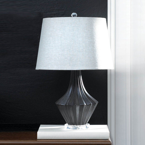 Mason Black And Gray Table Lamp