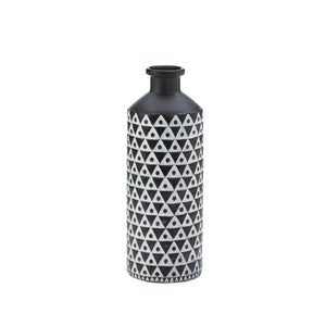 Mazara Black And White Vase