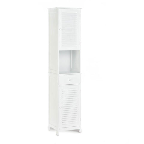 Nantucket Tall Cabinet - Shop Cabinet - DARRA HOME