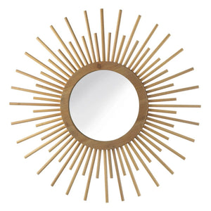 Nila Sunburst Mirror - Shop Mirror - DARRA HOME