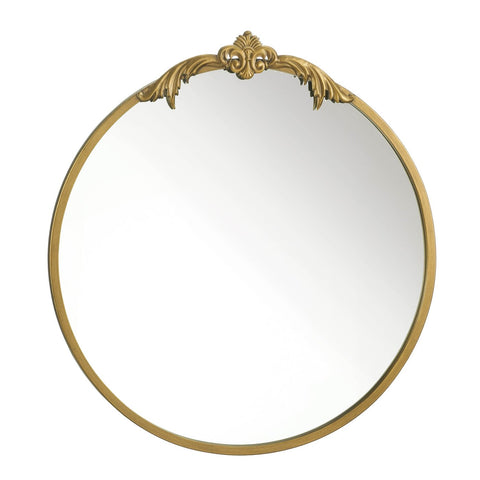 Ornate Gold Wall Mirror - DARRA HOME
