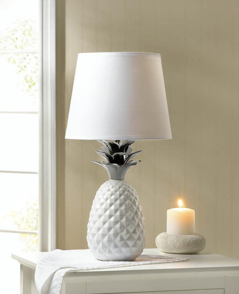 Topped Pineapple Lamp - DARRA HOME