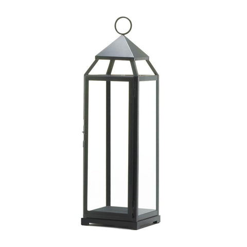 Tall Contemporary Lantern - DARRA HOME