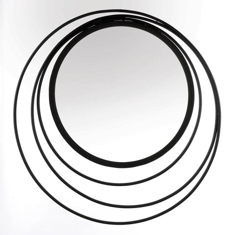 Three Ring Wall Mirror - DARRA HOME