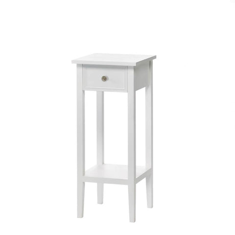 Willow White Side Table - Shop Side Table - DARRA HOME