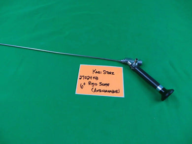 Karl Storz 27024KG 6 Degrees Length 44 cm Autoclavable Rigid Scope *FOR PARTS*