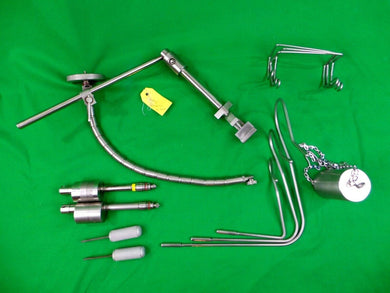 Medtronic Surgical Sofamor Danek Rail Bed Attachment & Flex Flexible Arm Set