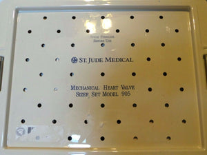 St. Jude Medical Mechanical Heart Valve Sizer Set Model 905