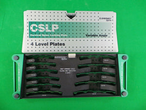 Synthes CSLP Cervical Spine Locking Plate Set Instruments srews & 1,2,3,4 level plates