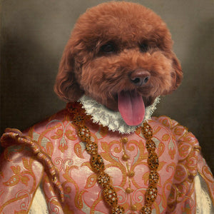 The Heiress Pet Portrait