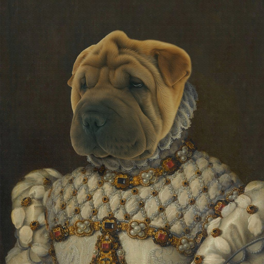 The Queen Pet Portrait