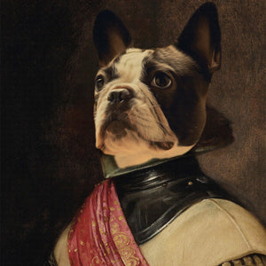The Duke Pet Portrait