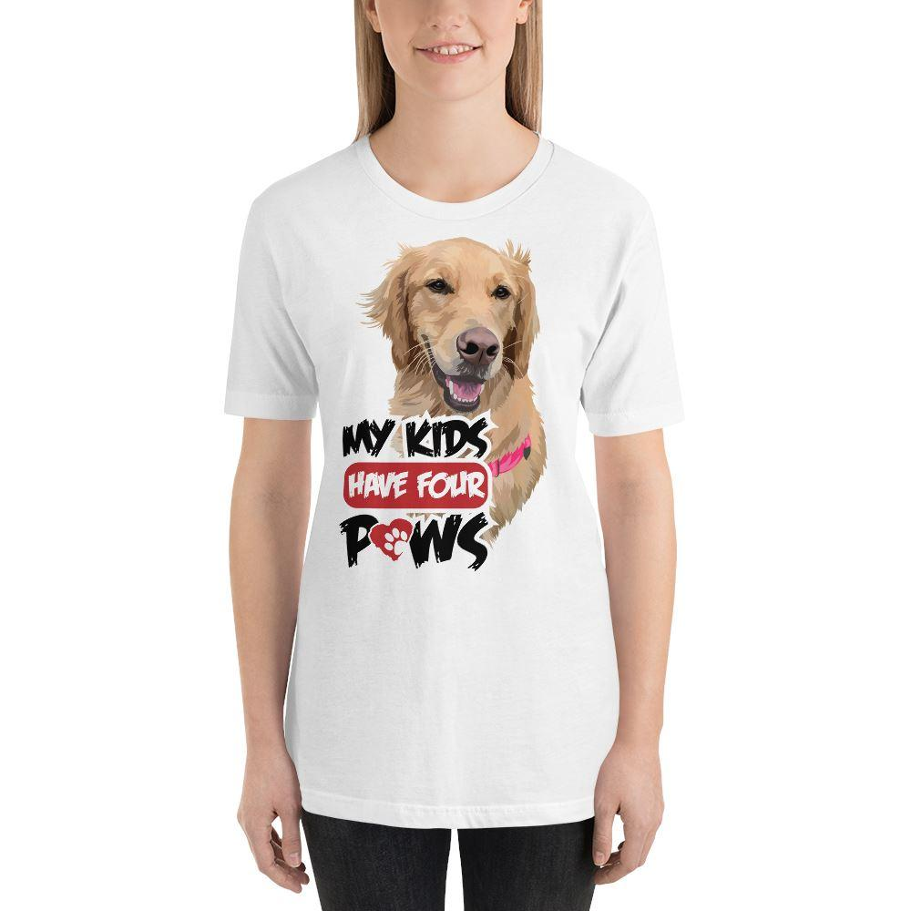 My Kids Have Four Paws - Custom Tee
