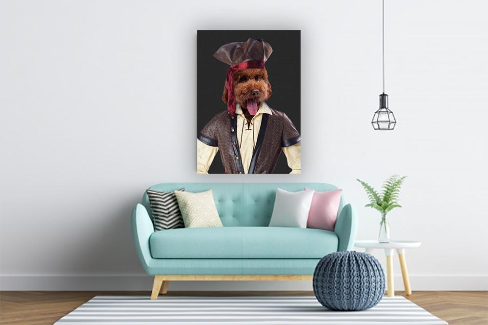 The Pirate Pet Portrait