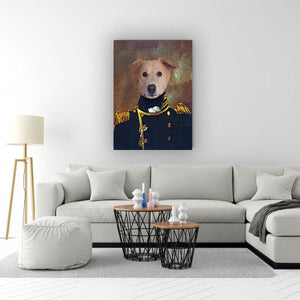 The Admiral Pet Portrait