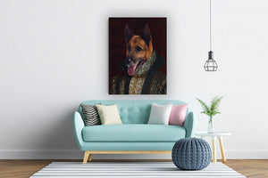 The Duchess Pet Portrait