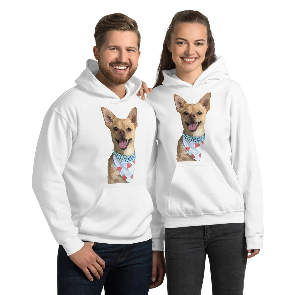 Wear My Pet Hoodie - Custom Unisex Apparel