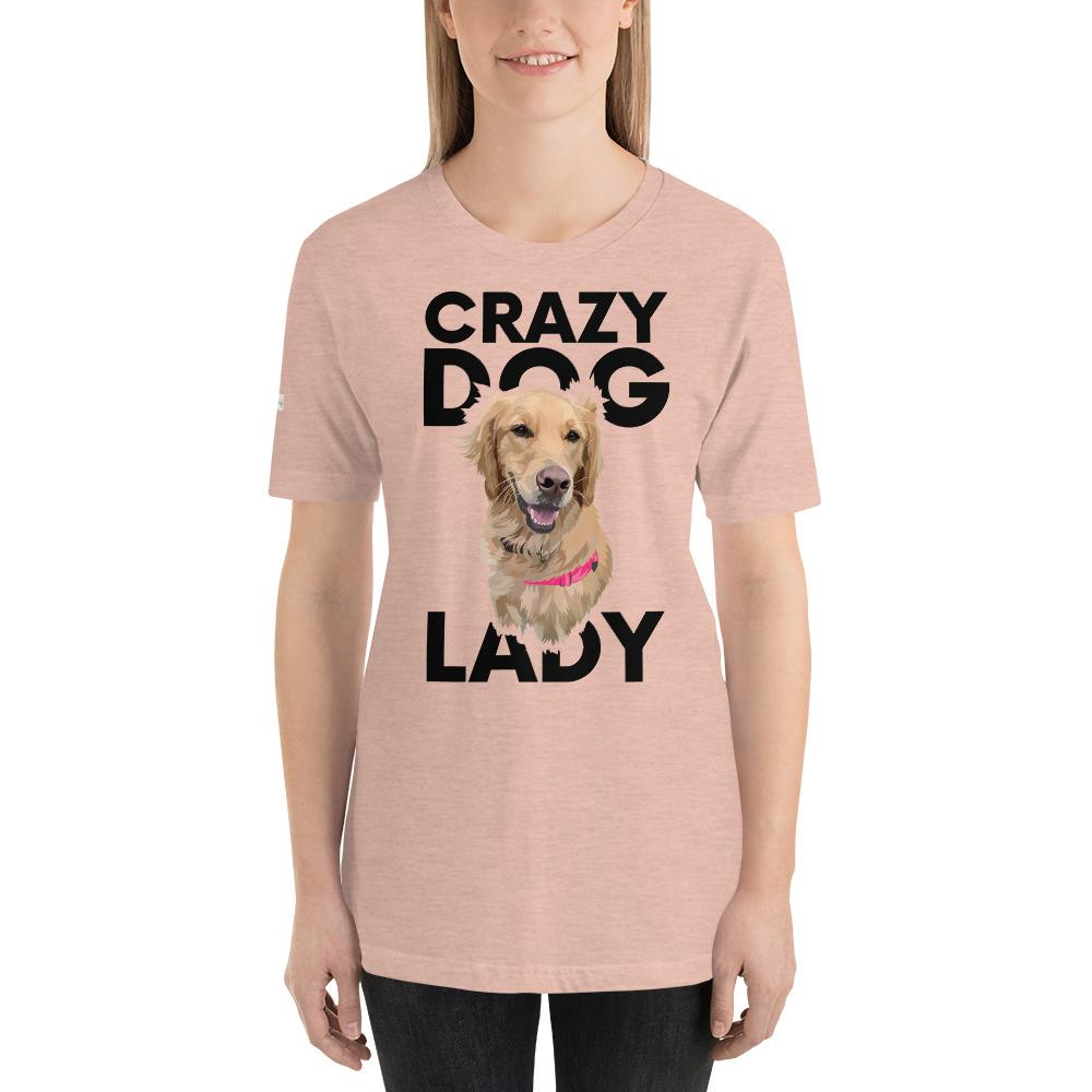 Crazy Dog Lady - Custom Tee