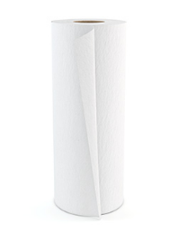 "11"" 2 Ply White Towels"