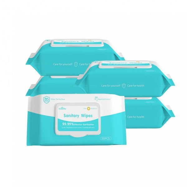 Sanitizing Wipes, 50/pkg