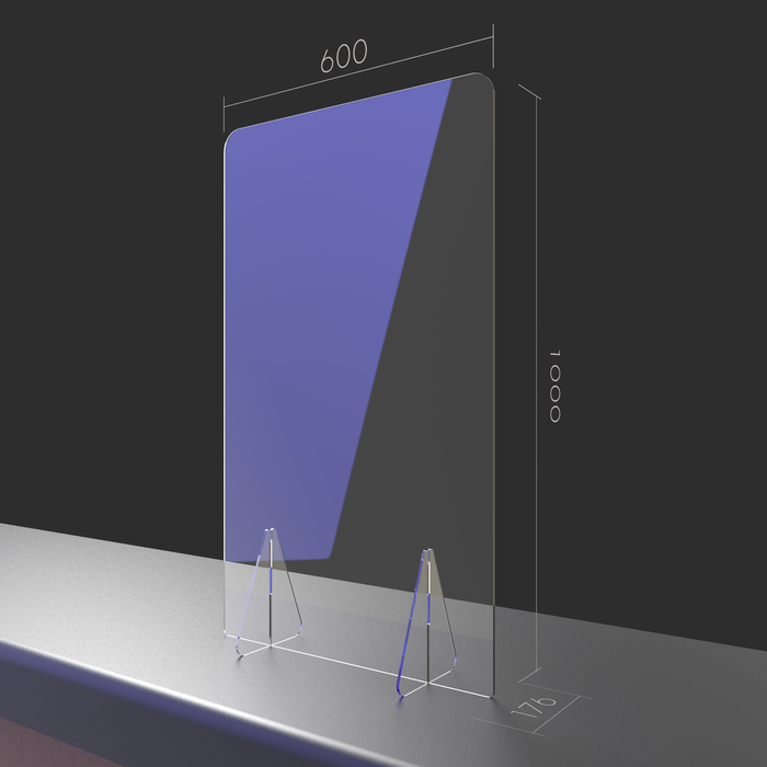 Discovery - Acrylic Free Standing Screens