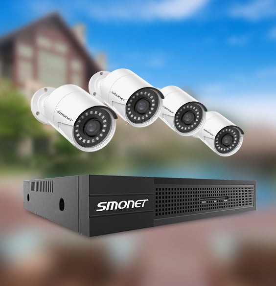 Smonet 5MP Security Camera System SMUS-PNK