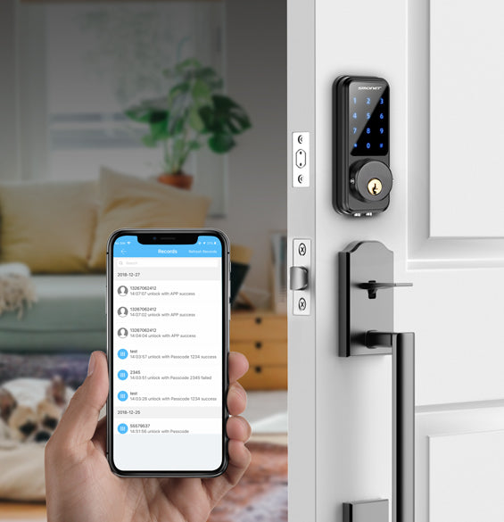 wifi smart door lock