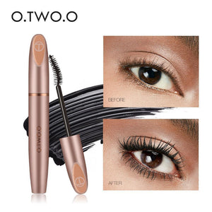 4D Silk Fiber Waterproof Eyelash Mascara(set of 2 pieces)