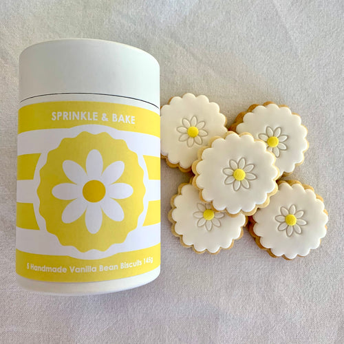 Mother's Day Yellow Biscuit Cylinder
