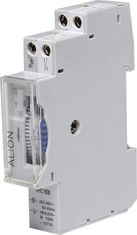 1 Pole 16A 24 Hour Analouge Din Rail Timer