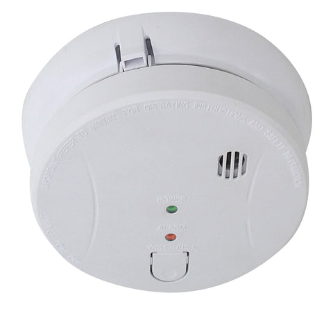 Photoelectric Smoke Alarm Actifire Certified 240VAC 9V BATTERY BACK-UP