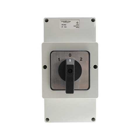 IP66 Changeover Switch 3 Pole 500V AC 63A