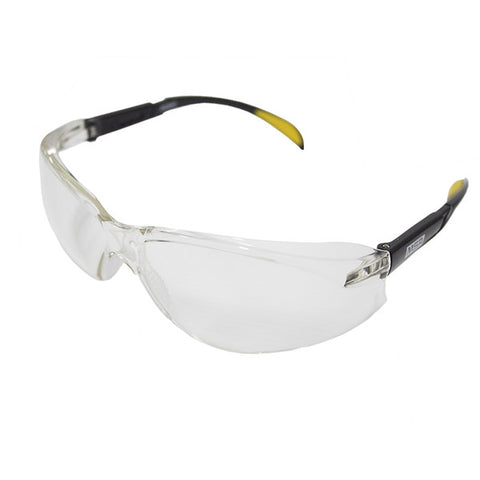 MSA BLOCKZ Safety Glasses With Black Frames & Clear Anti-fog Lenses