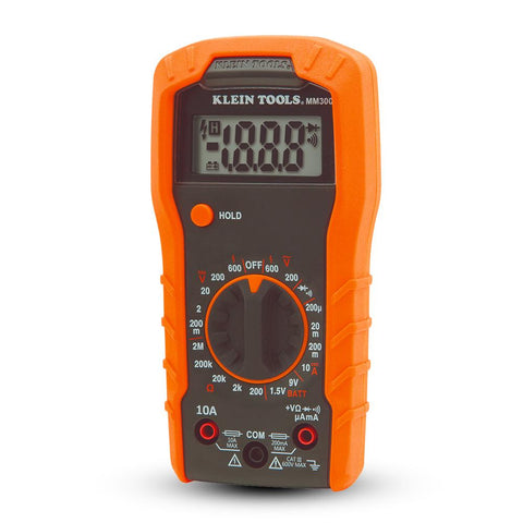 Digital Multi-meter, Manual-Ranging, 600 V