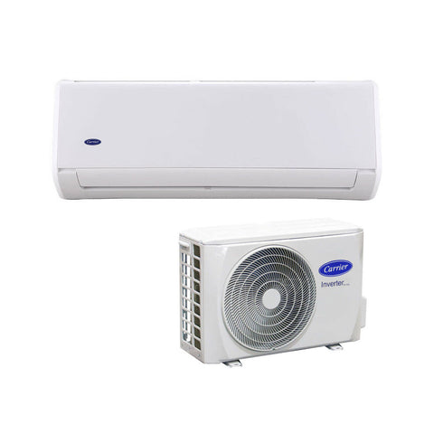 Carrier 6.5kW Cool 7.1kW Heat Pearl Inverter Hi-Wall Indoor/Outdoor Air Conditioning Unit