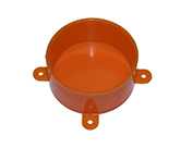 DISPOSABLE LID ORANGE