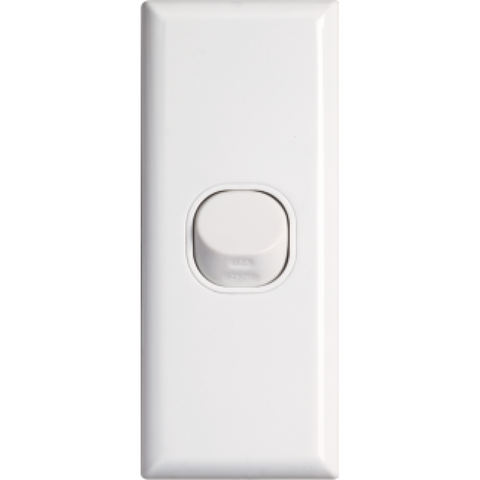 Standard single architrave switch vertical