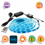 MULTI COLOUR 5M PIXIE BLUETOOTH / REMOTE CONTROL LED STRIP LIGHT
