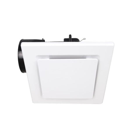 Exhaust Fan Square 240mm White