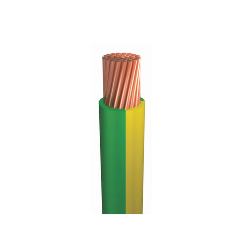 6mm EARTH - Building Wire 100 Metres