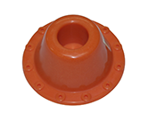 LOCATING FLANGE ORANGE 32MM