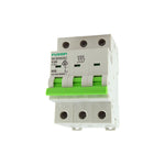 Circuit Breaker 3 Pole 500V ac. 63amp D Curve Breaking capacity 6kA