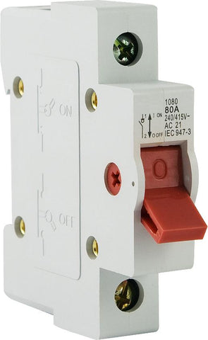 Main switch 50A 1 Pole