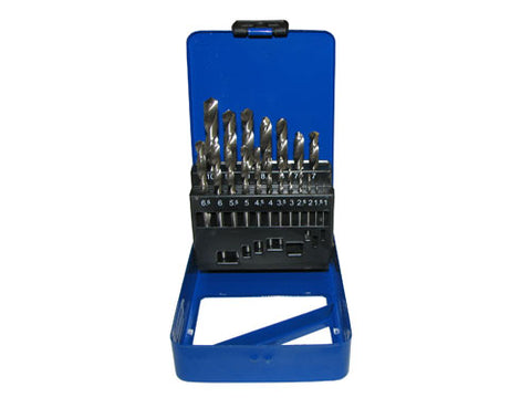 19Pc METRIC DRILL BIT SET 1.0 - 10.0 mm