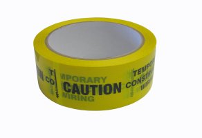 TAPE IDENT CAUTION-CONSTRUCTION 38MMX50