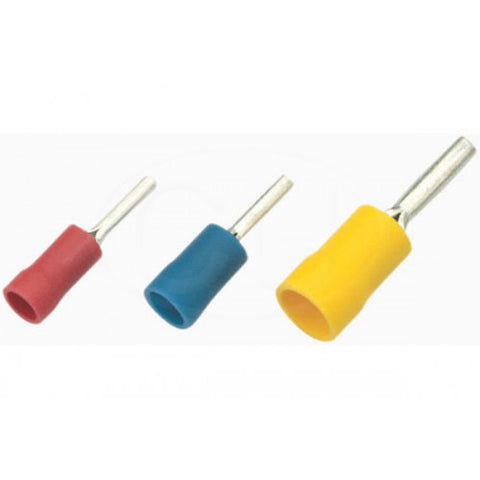 Pin terminal, yellow, 50pk