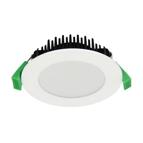 LED Donwlight kit 13W FLAT Dimmable LED Downlight Tri colour - White Fitting 90mm CUT-OUT